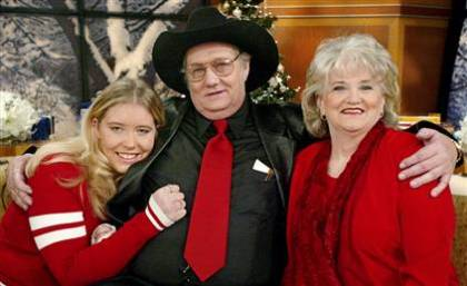 Jack, Bragg and Wife is 2002 just after winning lottery