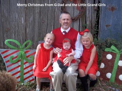 G day and little girls Christmas