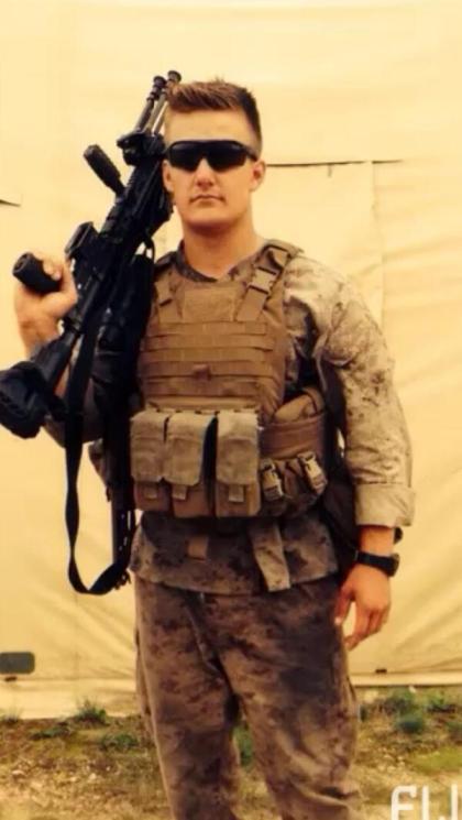 Jonathan Seth Bailey Fagan: US Marine