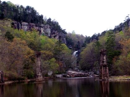 Weiss lake falls