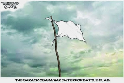 obama battle flag enlarged